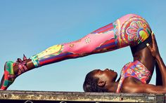I have never quite pined over a yoga outfit as I have this one. Omg...