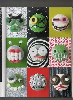 Monster cupcakes - another Ry Bday idea