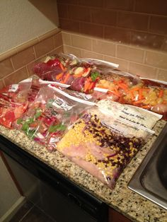 Freezer Meals   Gotta get ready for baby #2 to come!