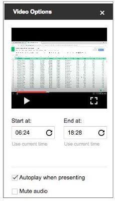 G Suite Update Alerts: Insert videos from Google Drive in Google Slides