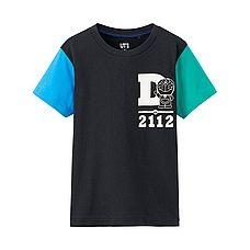 KIDS DORAEMON Short Sleeve Graphic T-Shirt