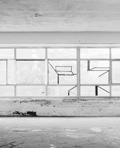 inside    #industrial #architecture #white