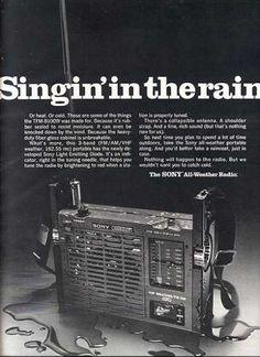Sony's All-Weather Radio (1970)