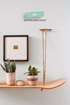 Attraktiv DIY: Estantería Tabla De Skate