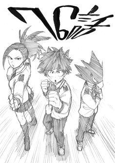 My Hero Academia | Momo Yaoyorozu, Izuku Midoriya, and Fumikage Tokoyami