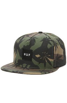 The Plantlife Snapback in Woodland by HUF