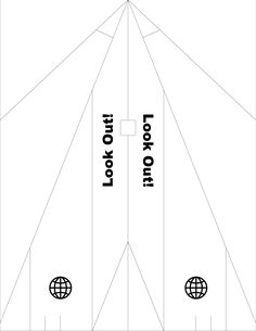 airplane cut out template - 1000 images about paper craft airplanes on pinterest