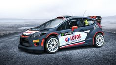 Robert Kubica's 2015 Ford Fiesta WRC rally car livery