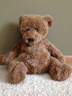 "Adorable GUND Brown Fuzzy Teddy Bear 15"" Plush - eBay"