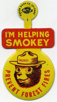 Even in the Smokey the Bear was an avid figure. The hippie movement meant a time of peace and relaxation, which was advertised through the prevention of stressful situations, such as war and natural disasters, such as forest fires. Vintage Advertisements, Vintage Ads, Smokey The Bears, Old Ads, My Childhood Memories, My Memory, The Good Old Days, Old Things, Retro