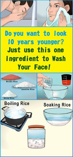 Do you want to look 10 years younger? Just use this one ingredient to wash your face!