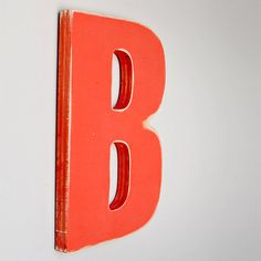 Wood Letter - B $18