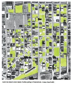 Discussions on Surface Parking (An Elwood Grid) by   James Woodfill and David Dowell  From Review: Architecture 2012