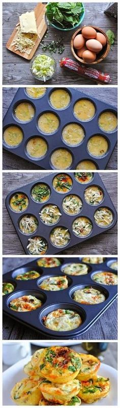How To Mini Frittata Brunch Bar by bbooky