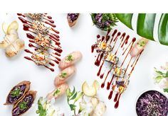 This is carbon neutral sushi, handmade from fresh, certified and sustainable ingredients. Pair with organic wine and some friends for an enhanced experience. Organic Wine, Sushi, Helsinki, Ethnic Recipes, Restaurants, Handmade, Bar, Food, Hand Made