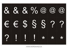 Textboard selber machen, free printable und Verlosung (giveaway)