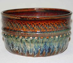 Ceramic pottery bowl handthrown by DrostePottery on Etsy, $30.00