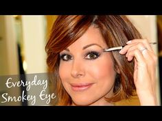 Everyday Neutral Smokey Eye Tutorial - Dominique Sachse's YouTube Channel
