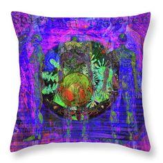 Solar Throw Pillow featuring the digital art Spiritual Traveler by Joseph Mosley