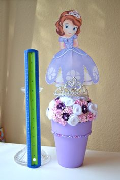Sofia the first centerpiece by Annabellasworld on Etsy