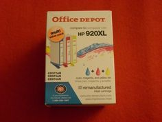 Office DEPOT Ink Cartridge Replacement for HP Cyan Yellow Magenta for sale online Ink Toner, Office Depot, Magenta, Yellow, Ebay