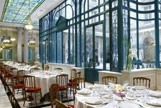 The winter garden, a warm and cosy place