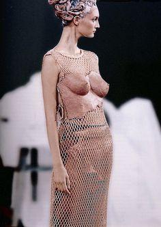 "Jean-Paul Gaultier S/S 1999 ""Geishas in Technicolor""                                                                                                                                                                                 More"