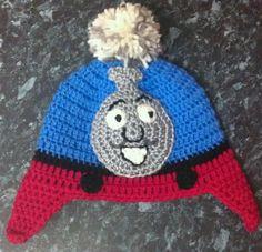 Thomas the Tank Engine beanie/ Crochet