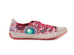 Desigual Tenisky Marbella 3 / mnohobarevná Sneakers, Shoes, Fashion, Tennis, Moda, Slippers, Zapatos, Shoes Outlet, Fashion Styles