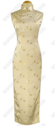 This Sweety Silk Dress is an exquisitely-designed long Chinese dress, suitably worn for parties or...