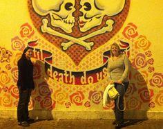 'Til Death Do Us Part - Mural E. 7th and Waller Austin Texas
