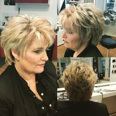 Short Choppy Layers, Short Hair Cuts, Short Hair Styles, Cut And Style, My Style, Haircuts, Hairstyles, Hair Beauty, Cabin