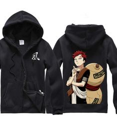 Anime Naruto Gaara Clothing Hooded Sweatshirt Cosplay Hoodie S,M,L,XL,XXL from Luwisa,$28.84 | DHgate.com
