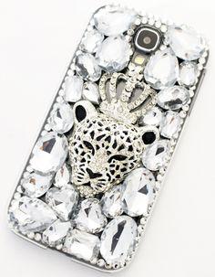 smartphonecase of DDPOP [Crystal tiger queen]
