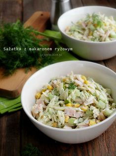 Noodle Salad, Pasta Salad, Orzo, Cooking Recipes, Healthy Recipes, Healthy Food, Bbq Party, Rice Noodles, Fried Rice