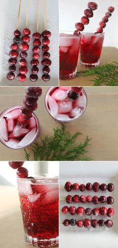 Cranberry pinot noir spritzer