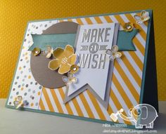 Stampin'Up! Perfect Pennants with the New In Colors!