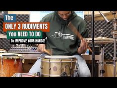 You read that title correctly. These are the only three rudiment exercises you need to do in 2020 if your goal this year is to improve your hands! - But THER. Drum Rudiments, Drums Electric, Best Country Music, Drum Lessons, How To Play Drums, Music School, Snare Drum, Book Boyfriends, Drum Kits