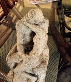 AUSTIN PROD 1966  The Kiss  by Rodin Art Sculpture by Curioshop1