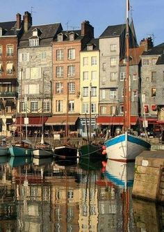 Honfleur, Normandy, France. I'm coming back, I fell in love with this adorable town!