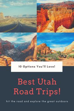 Looking for the best UTAH ROAD TRIPS? Then this article is for you! Hit the road and explore the stunning state on one of these 10 awesome Utah road trips! Travel Articles, Travel Info, Travel List, Travel Packing, Budget Travel, Us Travel, Good Drive, Responsible Travel, Slow Travel