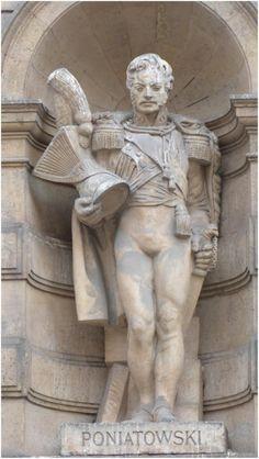 La statue de Jozef Antoni Poniatowski