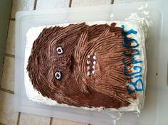 Birthday cake for BIGFOOT fans!