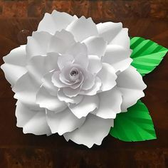 Paper Flower Template, Digital (PDF) Version, Original Design by Annie Rose #140