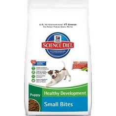 Hill's Science Diet Puppy Healthy Development Small Bites Dry Dog Food, 15.5-pound Bag, New, * Want to know more, click on the image. (This is an affiliate link and I receive a commission for the sales) #DogLovers