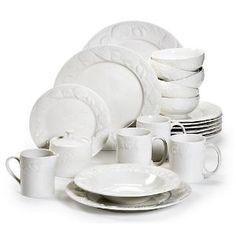 Amazon.com: Pfaltzgraff 45−pc. Lido Beach Dinnerware Set: Kitchen & Dining