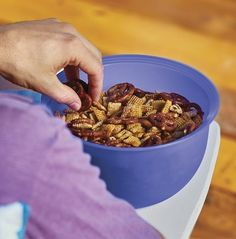 Crunchtastic! Make this Easy Party Mix for your next outdoor bash, patio party or camping trip.