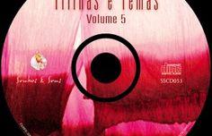 Rótulo do CD Trilhas e Temas 5 - Marcus Vianna
