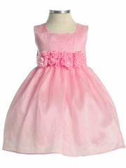 Pink Flower Girl Dresses, Shoes and Accessories at PinkPrincess.com