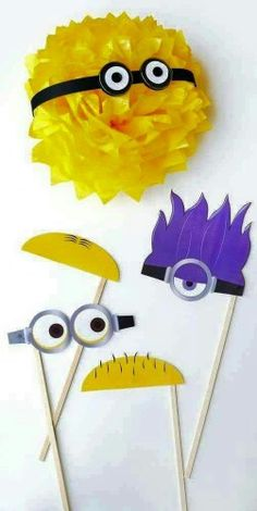 Despicable Me / Minions Photobooth Pops